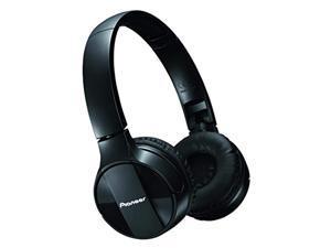 pioneer bluetooth dynamic closed-type headphones pioneer se-mj553bt-k (black)