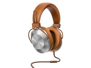 pioneer high res sealed dynamic stereo headphone se-ms5t-t(brown)