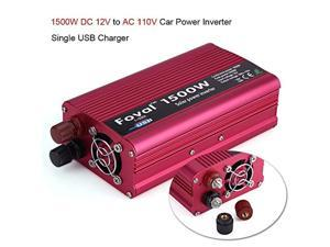 car power inverter-1500w dc 12v to ac 110v car power inverter converter usb charger adapter