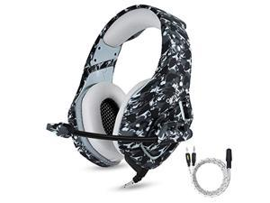 ps4 gaming headset with mic for pc mac laptop new xbox one nintendo ds psp surround stereo sound noise reduction one key mute g
