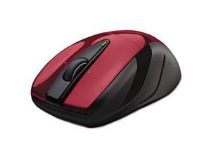 logitech 910002651 m325 wireless mouse, right/left, red