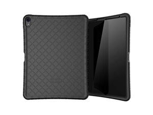 bear motion silicon case for ipad pro 12.9 2018 shockproof silicone protective cover (does not support apple pencil 2 charging)