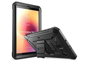 galalxy tab a 8.0 case 2018, supcase with built-in screen protector [unicorn beetle pro series] full-body hybrid rugged kicksta