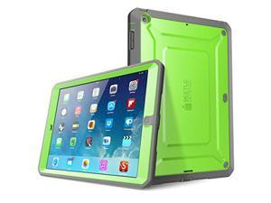iPad Air Case, SUPCASE, Unicorn Beetle Pro, Heavy Duty Full-body Case, Ipad Air Case-Green.Gray