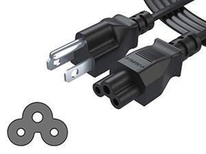 ul listed pwr 6 ft mickey mouse plug ac power supply cord ac adapter laptop notebook computer charger cable: iec-60320 iec320 c