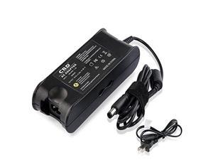 generic replacement laptop ac adapter/power supply/charger w/us power cord for dell inspiron (19.5v-3.34a input: 100-240v ~ 1.2
