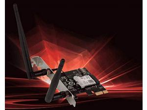 msi dual band ac wifi bluetooth 4.2 long range wireless pcie network adapter card (ac905c)