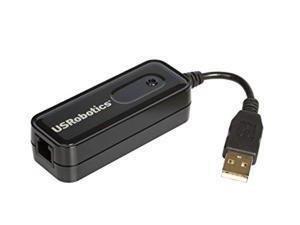 US Robotics 56K USB Soft modem - Fax/Modem (USR5639)