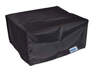 comp bind technology printer cover for hp envy 4520 wireless printer, black nylon anti-static dust cover dimensions 17.5''w x 1