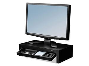 fel-8038101-x0 - fellowes adjustable monitor riser w/storage tray