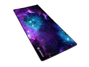 ENHANCE Pathogen GX-MP2 XXL Mouse Pad with Low-Friction Tracking Surface - Galaxy