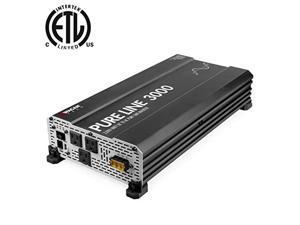 wagan 3810 pure line power inverter 3000 watt dc 12v to 110v ac car inverter etl certified