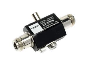 diamond original sp3000 dc-3000mhz coax surge protector/lightning arrester - connectors: n female to n female