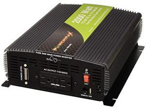 powermax 2000w 2000w pure sine wave inverter