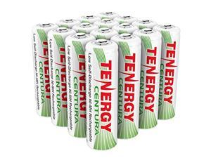 tenergy aa rechargeable nimh battery 2000mah pre-charged household battery low self discharge high performance aa battery pack