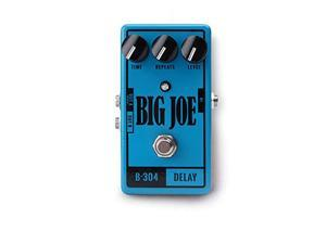 big joe stomp box company analog delay b-304   big joe series bypass stereo analog guitar pedal