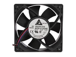 delta afb1212ghecf00, combo set of 2 fans, 120 x 120 x 38mm cooling fan, 240.96 cfm, 5200 rpm, 62 dba, 2.45a max 3.24a, ship from los angeles
