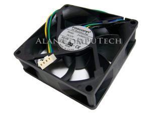 foxconn  foxconn12v dc 0.65a 80x25mm 4wire fan new pv802512e dc brushless  pv802512e
