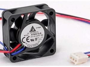 set of 2 !! afb0412lbf00 40 x 40 x 15mm cooling fan, 5000rpm, 6.5 cfm, 18.5 dba, 0.09amp max,3 pin tach. ship from usa !!