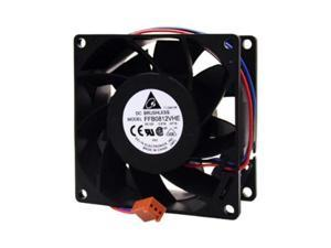 delta ffb0812vheh715 blue wire  rotation detect funtion 80mm x 38mm 12v 57cfm 4200rpm fan