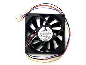 delta 80x80x15mm high speed pwm fan-efc0812db