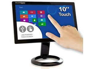"""doublesight smart usb touch screen lcd monitor, 10"""" screen, portable no video card required pc/mac"""