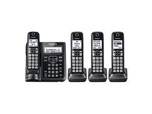 Panasonic KX-TGD220N Metallic Grey KX-TGD220M DECT 6.0 Cordless Phone System