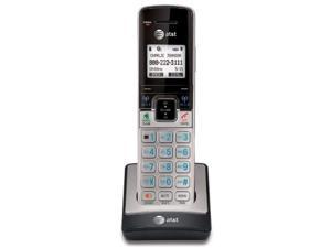 at&t tl90073 accessory cordless handset, silver/black | requires an at&t tl92273, tl96273, or other models to operate