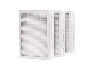 blueair classic replacement filter, 500/600 series genuine particle filter, pollen, dust, removal 501, 503, 510, 550e, 555eb, 6
