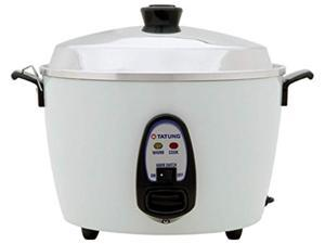 tatung  tac10g sf  10 cup rice cooker  white aluminum cook pot