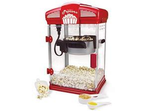 west bend 82515 hot oil movie theater style popcorn popper machine with nonstick kettle includes measuring cup oil and popcorn