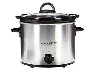 crockpot classic slow cooker 4 quart round model scr-400sp