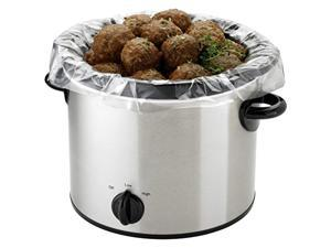 pansaver 42525 small slow cooker liner (pack of 5)