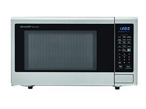 sharp zsmc1842cs carousel 1.8 cu. ft. 1100w countertop microwave oven in stainless steel (ista 6 packaging), cubic foot, 1100 w