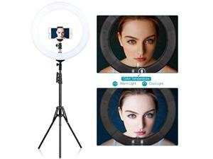 """zomei 18"""" dimmable led ring light for makeup selfie photographic ring light"""