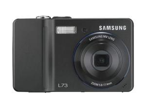 samsung digimax l73 7mp digital camera with 3x advance shake reduction optical zoom (black)