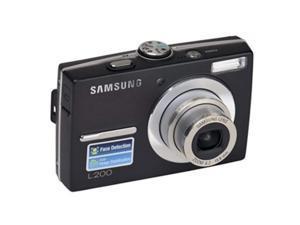 Samsung L200 10.2 Megapixel Compact Camera - Black