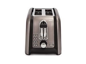 oster tssttrgm2l black stainless toaster,