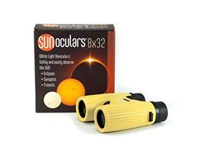 sunoculars-yellow with 8x the magnification of eclipse glasses