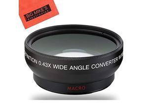 40.5mm wide angle lens for sony alpha a5000, a5100, a6000, a6300, a6500, nex-5tl, nex-6 digital camera that has sony 16-50mm f/