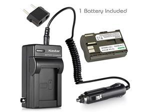 kastar battery (1-pack) and charger for canon bp-511, bp-511a, bp511, bp511a and eos 5d, 10d, 20d, 30d, 40d, 50d, digital rebel