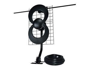antennas direct clearstream 2v tv antenna, 60+ mile range, uhf/vhf, multi-directional, indoor, attic, outdoor, mast w/pivoting
