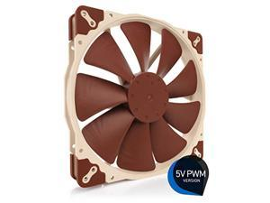 Noctua NF-A20 5V PWM, Premium Quiet Fan with USB Power Adaptor Cable, 4-Pin, 5V Version (200x30mm, Brown)