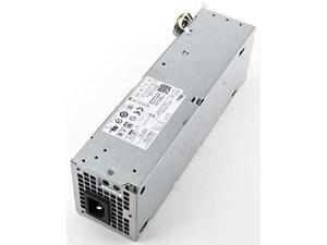 dell optiplex 7020 9020 t1700 power supply 8-pin 255w v9mvk fp16x fn3mn 2xk8w
