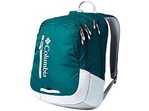 "columbia winchuck 15"" laptop backpack omni shield school daypack (pine green)"