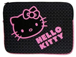 "hello kitty kt4311bp 9-11"" notebook sleeve (black) (kt4311bp)"