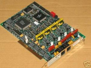 dialogic/gammalink dialog/4 half size 4 port voice processing board