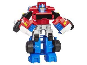 playskool heroes transformers rescue bots optimus prime action figure, ages 3-7 ( exclusive)