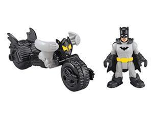 Fisher-Price DC Super Friends Imaginext Batman Mech /& The Joker Jet Action Figur