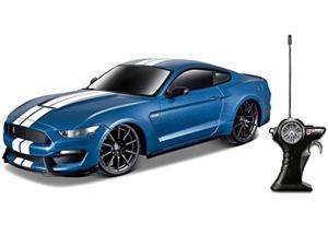maisto r/c 1:24 shelby gt350 ford mustang radio control vehicle (colors may vary)